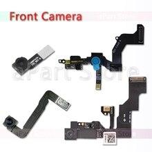 Original For iPhone 5 5S 5C SE 4 4S 6 6s Plus Right Proximity Sensor Face Front Camera Flex Cable Replacement