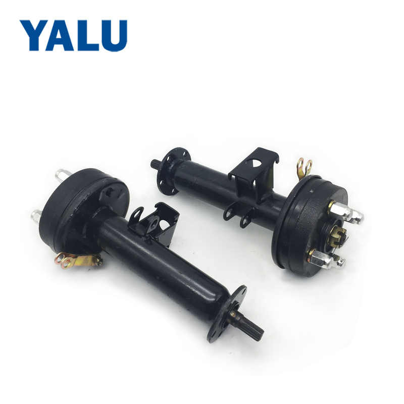 Electric tricycle rear axle half axle electric motorcycle 16 tooth drive shaft