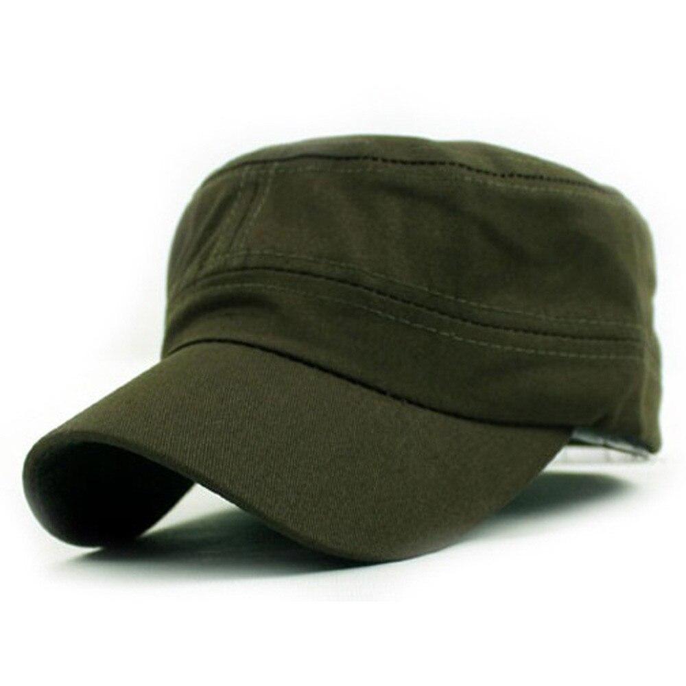 Kopfbedeckungen Für Herren Bekleidung Zubehör Klassische Plain Retro Wind Hut Armee Kadett Stil Unisex Baumwolle Kappe Armee Grün Einstellbare Z119 Neueste Technik