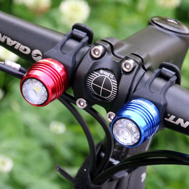 Biçikletë Deemount Rear dritë karat Llampë paralajmërimi - Çiklizmit - Foto 6