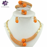 African Wedding Jewelry Sets African Jewelry Set African Beads Jewelry Set Stainless Steel Indian Fashion Jewelry