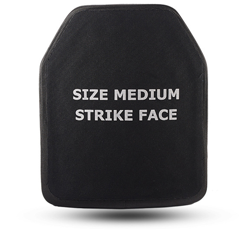 Image 2 - New nij iv Bulletproof armor plated 4.5mm chest flapper AK47 Bullet proof vests Body armor 6.0mm M16 3 kinds of thickness Plate-in Self Defense Supplies from Security & Protection