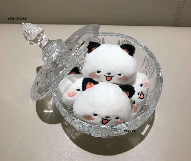 1a8cec4c64f 50PCS LOT Kawaii Mini Bunny Plush Toys Rabbit Soft Stuffed Animal ...