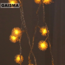 1.5M/3M/6M Battery Operated Christmas Lights String LED Garland Wedding Decorations Fairy Lights For Holiday Party lichterkette