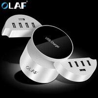 OLAF 10-Port AC DC USB Hızlı Şarj USB Station Akıllı şarj Güç Adaptörü İNGILTERE Tak ABD Plug AB Için Şarj İstasyonu fiş