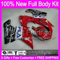 +decal HOT NEW Red For DUCATI 1098S 1198S 848 1098 1198 S R B62 07 08 09 Red black blue 10 11 2007 2008 2009 2010 2011 Fairing