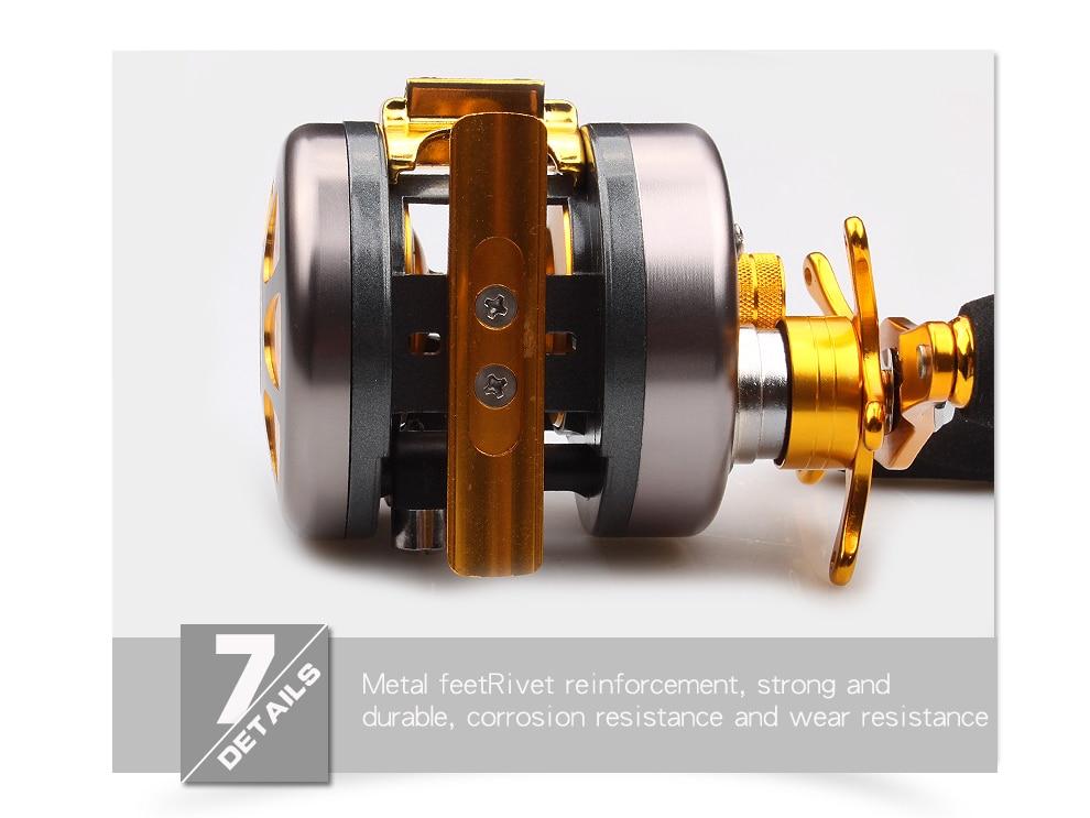 Bearings 4.5kg Bait Wheel 8