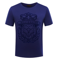 BILLIONAIRE TACE&SHARK T shirt men 2018 summer commerce fashion geometry pattern high quality fitness clothing free shipping