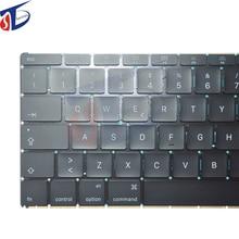 "Wholesale 100% original for Apple Macbook Pro Retina 12"" A1534 Italian IT Italy keyboard 2015 2016 year"