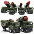 Juguetes de los niños, 1:32 aleación modelo militar, La simulación de misiles militares carros