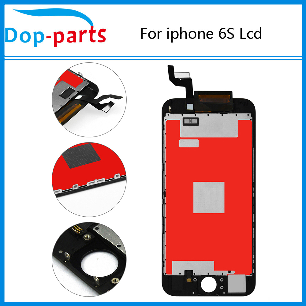 10PCS LCD Display For iphone 6s 4 7 quot Lcd display Touch screen Digitizer Assembly Grade AAA quality 100 Tested Free DHL Shipping in Mobile Phone LCD Screens from Cellphones amp Telecommunications
