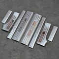 Car Accessories ultra-thin Stainless Steel Door Sill Scuff Plate for 2010 2011 2012 2013 2014 Peugeot 2008