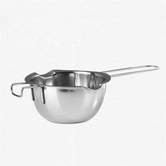 2018 Hot Penjualan Kualitas Tinggi Stainless Chocolate Melting Pot Pan Dapur Rumah Susu Mentega Mangkuk Ganda Boiler WH Dropshipping