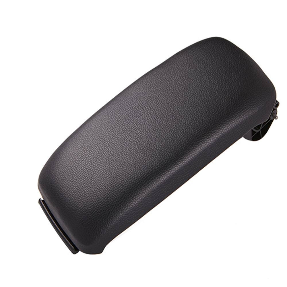 Leather Car Armrest Latch Cover Center Console Armrest Cover Car Black Storage Box  Lid Cover for Audi A3 8P/A5 Car accessories-in Armrests from Automobiles & Motorcycles