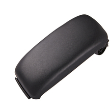 Leather Car Armrest Latch Cover Center Console Black Storage Box  Lid for Audi A3 8P/A5 accessories