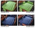 Coche libre del envío cojín colchoneta cama universal set cama de aire colchón de aire estera inflable bomba de accesorios de automóviles cojín nuevo soft cozy