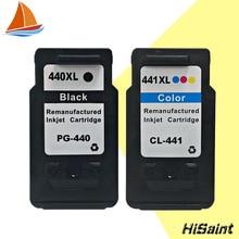 2PK Совместимы для Canon PG 440 CL 441 PG-440 CL-441 Чернил PG440 CL441 для PIXMA MX374 MX394 MX434 MX454 MX474 MX514 MX524 MX534