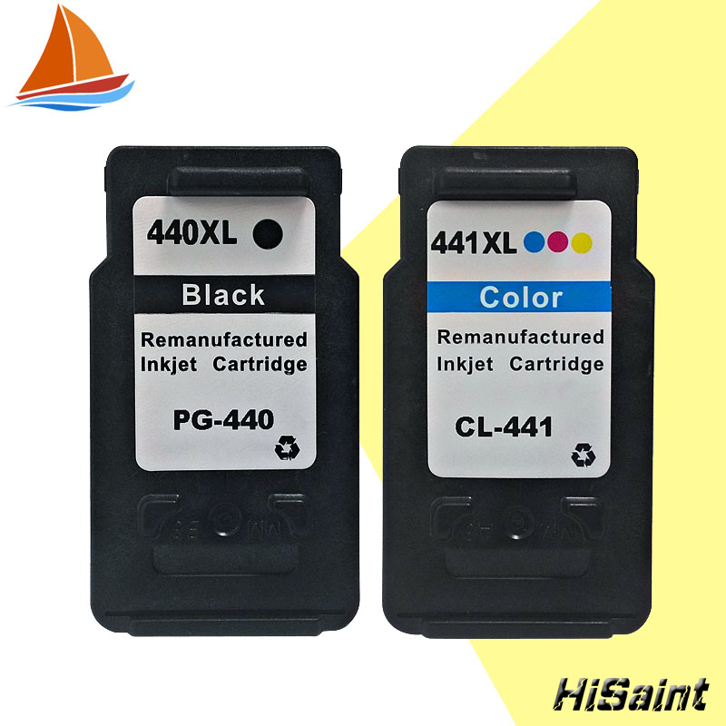 2PK For Canon PG 440 CL 441 PG 440 CL 441 Ink Cartridge PG440 CL441 for