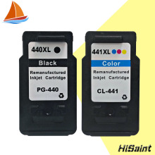 2PK For Canon PG 440 CL 441 PG-440 CL-441 Ink Cartridge PG440 CL441 for PIXMA MX374 MX394 MX434 MX454 MX474 MX514 MX524 MX534