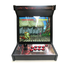 22 inch mini game machine with 2100 in 1 40G PCB/mini desktop arcade cabinet/table top arcade cabinet все цены