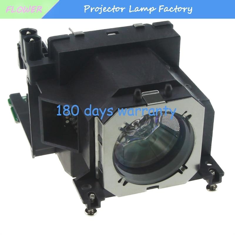 Hot Sale ET-LAV200 Replacement Projector Lamp with Housing for PANASONIC PT-VW435N PT-VW431D PT-VW440 PT-VX505N PT-VX500PT-VX510 original projector lamp et lab80 for pt lb75 pt lb75nt pt lb80 pt lw80nt pt lb75ntu pt lb75u pt lb80u