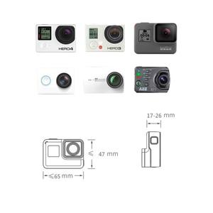 Image 5 - 3D מודפס עבור DJI אוסמו נייד 2 1 כף יד Gimbal מתאם מחזיק הר פעולה מצלמה סוגר לgopro גיבור 6 5 4 3