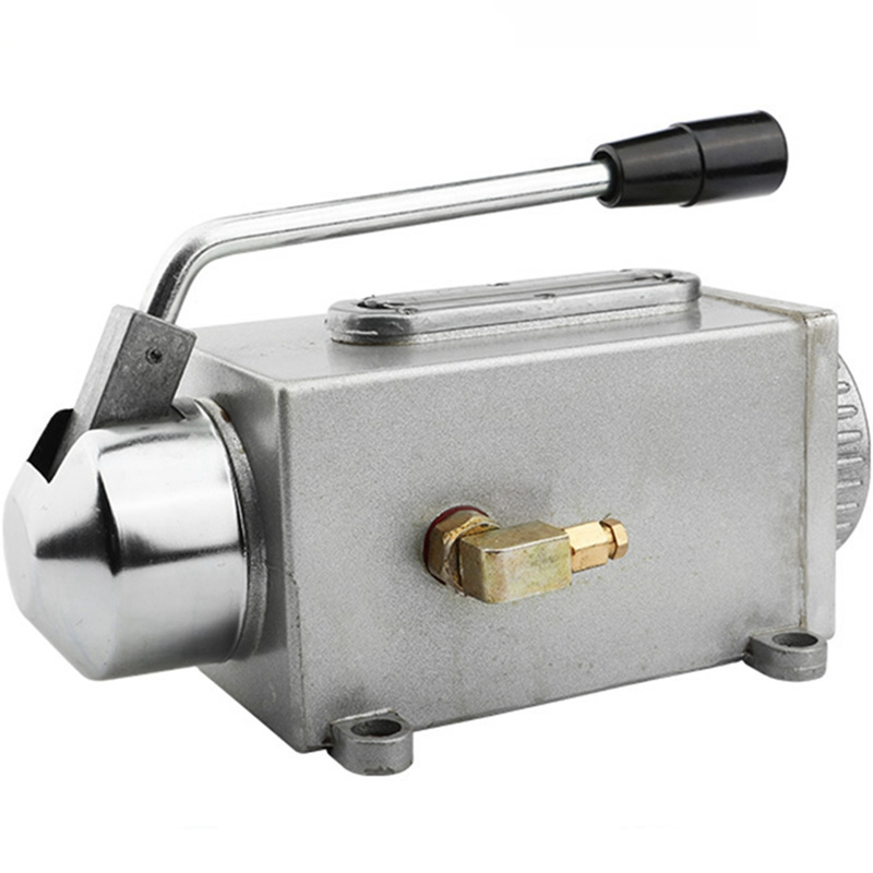PQWN Ein Satz Schmieröl Pumpe Hand-Betätigte Cnc Router Elektromagnetische Schmierung Pumpe Öler Edelstahl Körper