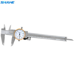 Штангенциркуль с двойным ударопрочным микрометром SHAHE, 150 мм/200 мм, 0,01 мм