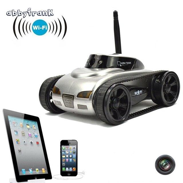 RC Мини Танк автомобиль IOS Android телефон пульт дистанционного управления 270-777 Wifi шпион танки стрелять робот с 0.3MP камера игрушки для детей и взрослых