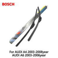 2pcs Lot Bosch Car AEROTWIN Wipers Windshield Wiper Blades Dedicated Wipers For AUDI A4 2003 2008year