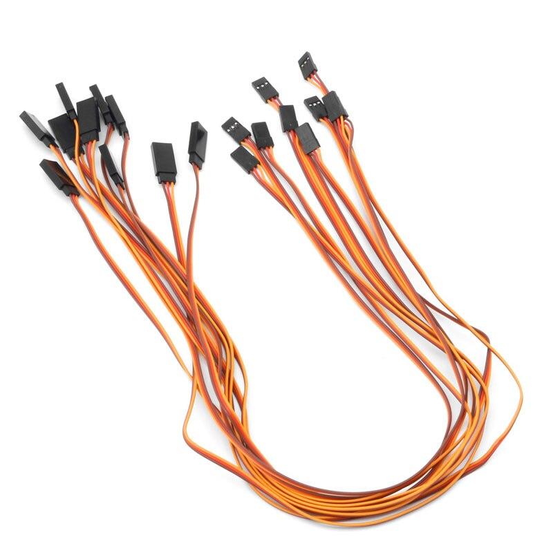 Neue 10 stücke 500mm verlängerung servo draht blei kabel für rc ...