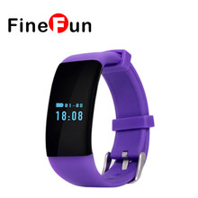 FineFun Smart Band D21 Heart Rate Monitor Fitness Tracker Smart Bracelet Activity Tracker for iOS Android