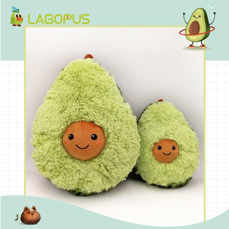 Lagopus Avocado Obst Nette Plüsch Spielzeug Cartoon Kissen Gefüllte Puppen Kissen Kissen Für Kinder Kinder Mädchen Squishy Neue Jahr Hoher Standard In QualitäT Und Hygiene Gefüllte & Plüsch-pflanzen