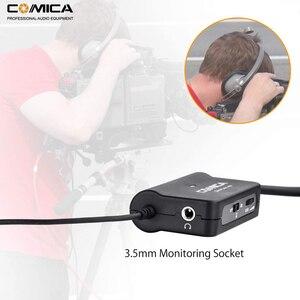 Image 3 - Comica AD1 przedwzmacniacz mikrofonowy XLR do 3.5mm Adapter Audio XLR do TRS/TRRS Adapter do lustrzanki cyfrowe kamery i smartfony