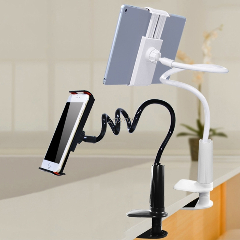 New 360 Degree Upgrade Flexible Arm Table Pad Holder Stand Convenient Bed Mount Phone Z09 Drop ship