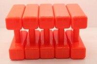 5PCS Orange H Block Marker Float Maximum Visibility For Carp Fishing Free Shipping