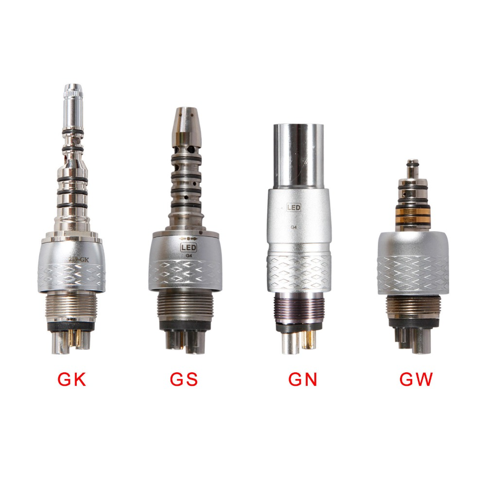 цены adaptor dental Quick Coupling Fiber Optic Handpiece Fit NSK, WH, Sirona, Kavo quick coupler connector