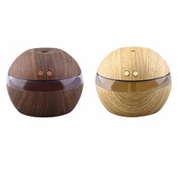 USB Manual Ultrasonic Humidifier 300ml Air Aroma Diffuser Essential Oil Diffuser Aromatherapy Mist Maker With LED