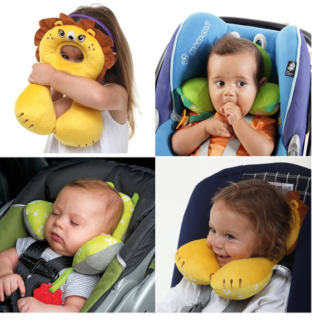 Baby Car Headrest Pillow Suit For 0 4 Years Old Kids Child Sleeping Head
