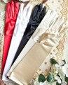 New arrival 2015 design de moda longo de noiva luvas de casamento luvas longas acessórios do casamento luvas