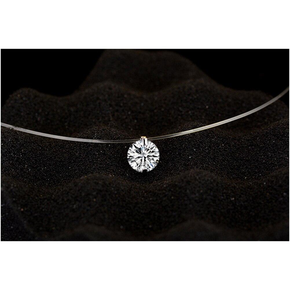 geekoplanet.com - Dazzling Zircon Pendant Necklace
