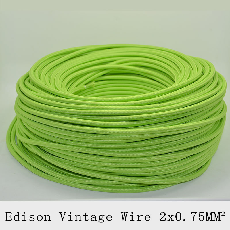 2075 10m edison textile fabric electrical wire chandelier cable 2075 10m edison textile fabric electrical wire chandelier cable pendant lamp wires braided electrical cable vintage lamp cord in electrical wires from mozeypictures Images