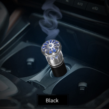 цена на Car Air Purifier Ionizer Air Cleaner Car Ionic Air Freshener And Odor Eliminator Remove Cigarettes Smoke Smell(Black)