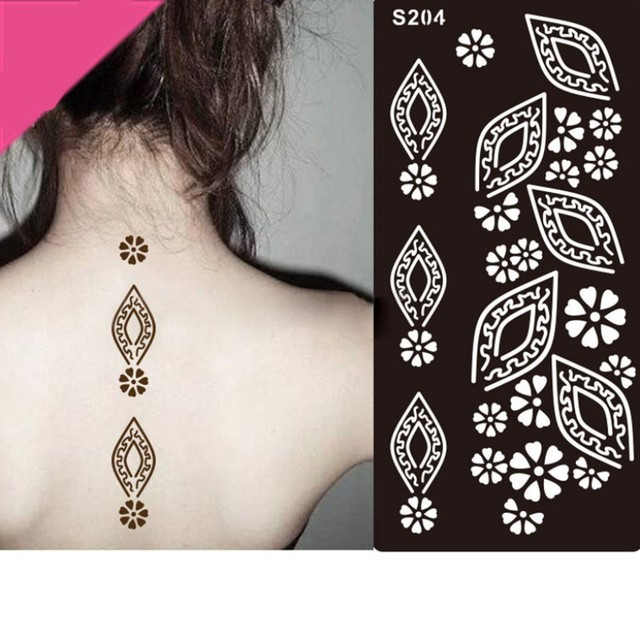 Women Waterproof Sexy Body Painting Life Of Tree Pattern Tattoo