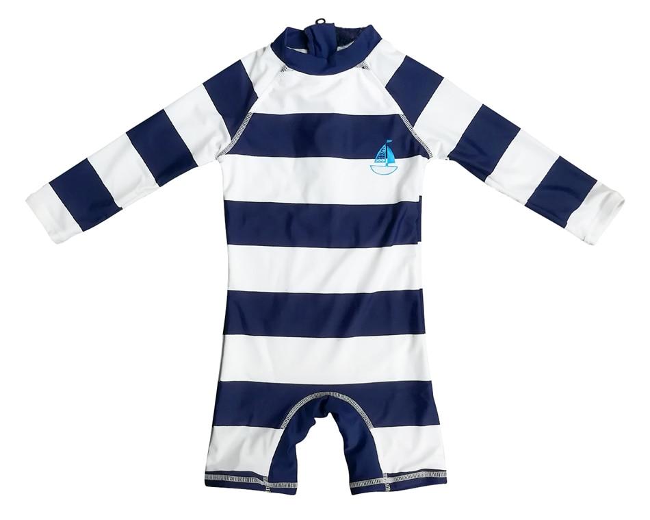 Bonverano(TM) Baby Boys' Swimwear Sunsuit UPF 50+ Sun Protection L/S Zipper One Piece Rashguard upf50 rashguard bodyboard al004