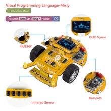 SunFounder SF-Rollbot STEM Learning Educational DIY Kit Robot Bloque Gráfica Basada En el Lenguaje de Programación Visual para Arduino