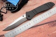 S90v JUFULE OEM Hecho de 710 de fibra de carbono Eje plegable de Cobre arandela de la caza de Bolsillo que acampa EDC Supervivencia al aire libre Herramienta cuchillo de cocina