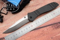 JUFULE OEM Made 710 Carbon Fiber S90v Axis Folding Copper Washer Hunting Camping Pocket Outdoor Survival
