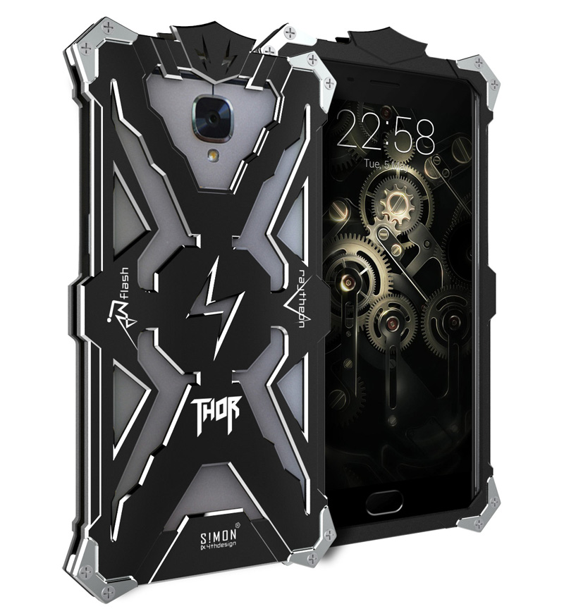 Original Simon THOR IRONMAN Shockproof Outdoor Metal Cover Aluminium Anti knock Case For Oneplus 3T Three