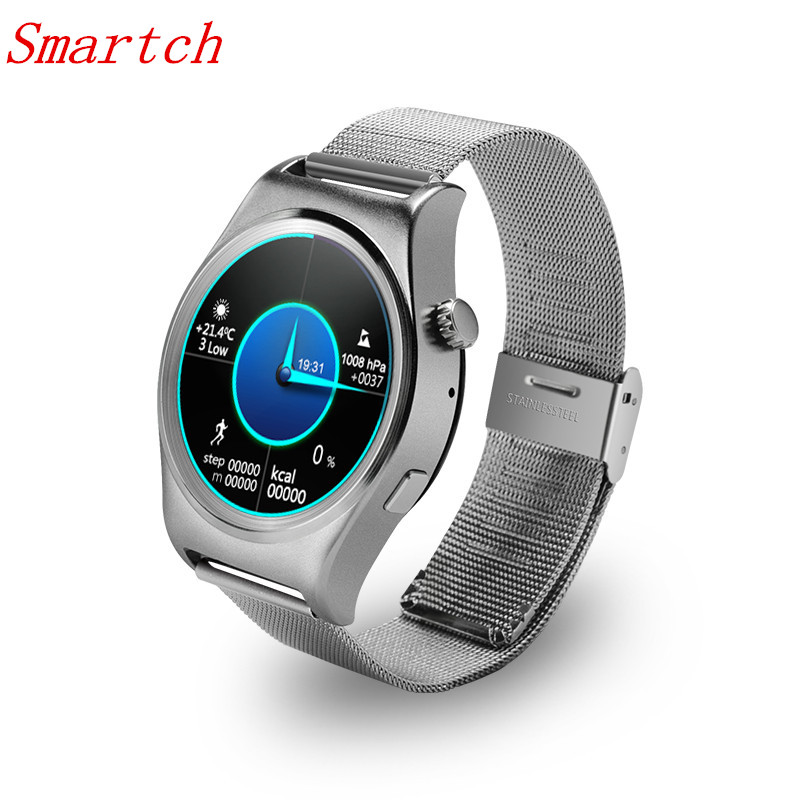 все цены на Smartch New X10 Smart Watch With LCD HD Full circle Display Smartwatch Bluetooth 4.0 Sleep Monitoring For Android 4.3 and IOS 7. онлайн